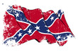 Confederate Rebel flag Grunge
