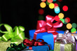 Many gifts in colorful packages