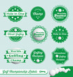Vector Set: Golfing Champion Labels