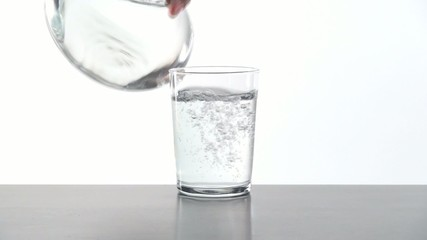 serving water glass