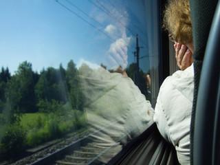 Mit dem Zug fahren