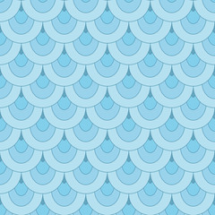 Seamless scale pattern