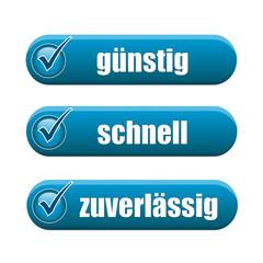 blue service-button-set