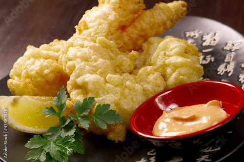 poster of prawn Ebi tempura bowi