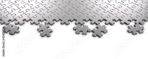Metal Jigsaw Puzzle
