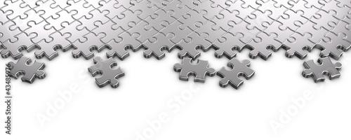 Metal Jigsaw Puzzle © Ayzek