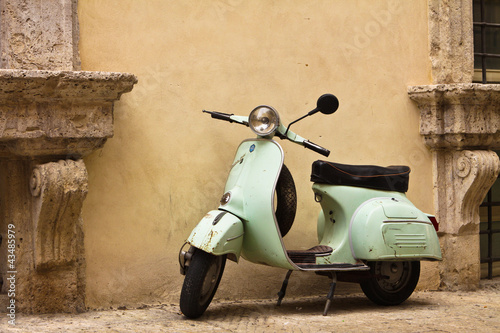 Poster Scooter Vespa