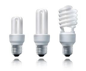 3 Energiesparlampen