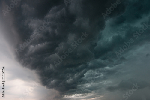 Storm clouds - 43486700