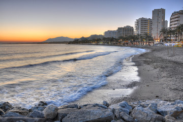 Marbella beach,Costa del Sol,Spain