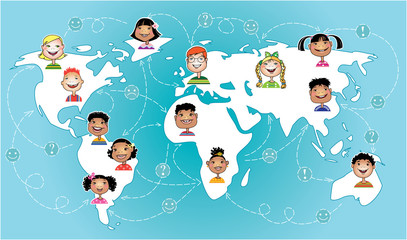 Kids connected worldwide
