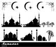 Ramadan vector set