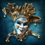 Fototapety Abstract  background with venetian mask