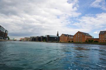 Canals  old city of Copenhagen