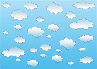 cielo nuvole
