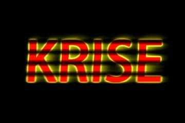 """Krise / Wort """"Krise"""" / Gefahr / Angst um Europa"""
