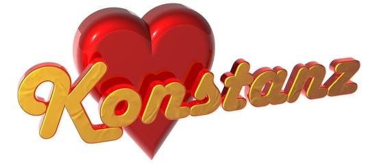 3D Herz - Konstanz