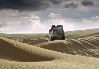 Off road in Tunisia