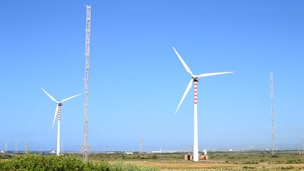 Aerogeneratori - parco eolico