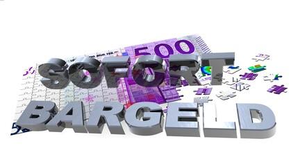 3D 500er Puzzle - SOFORT BARGELD