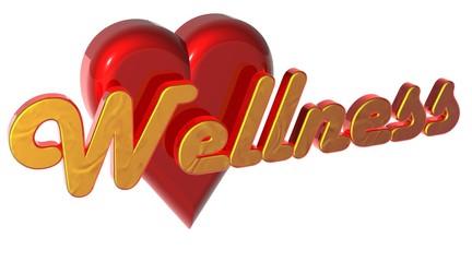 3D Herz - Wellness