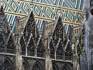 Vienna, top of Stephansdom