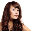 beauty young woman with beautiful hair