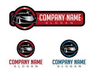 shiny car logo