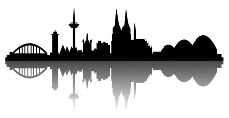 Köln - Silhouette