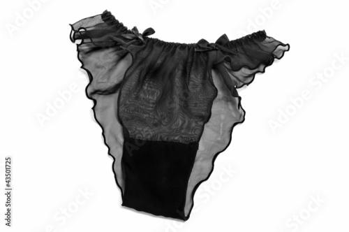 sexy black panties