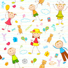 Kid Birthday Background
