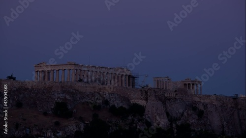 Acropolis of Athens - Time-lapse