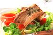 Pan fried pork belly