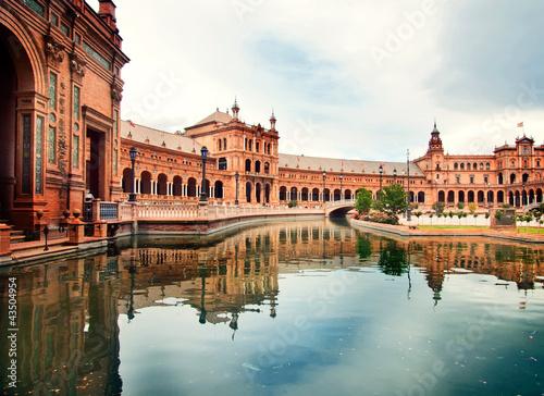 Spanish Square w Sewilla, Hiszpania