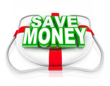 Save Money Life Preserver Budget Rescue Sale