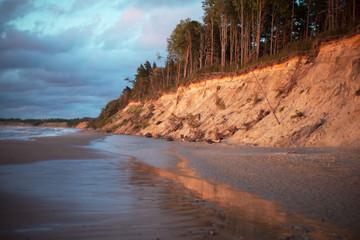Baltic coast, Latvia.