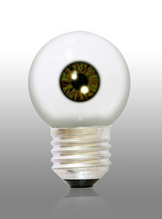 an eyeball bulb