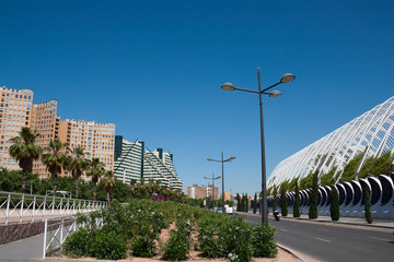 Valencia - Main road to run along the City of Arts and Sciences