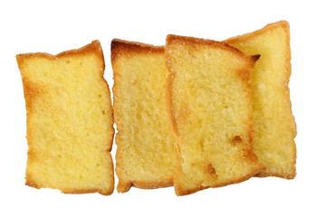 Toast butter bread