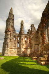 Ruin of Whitby Abbey, UK