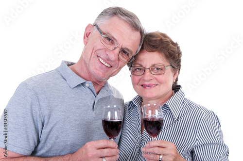 Älteres, glückliches Ehepaar