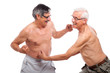 Funny seniors fight