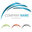 Company (Business) Logo Design, Vector, (Blue,Black,Green,Red)