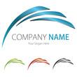 Company (Business) Logo Design, Vector, (Blue,Black,Green,Red)