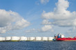 tankers in amsterdam harbor