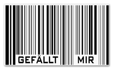 Barcode gefällt mir