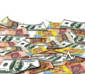 Ukrainian & american money