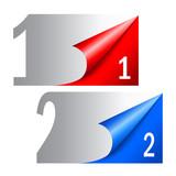 Vector number labels