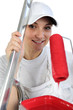 female painter decorator