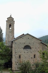 old church in Calizzano